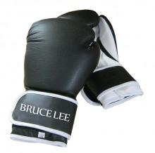 All-In Sport: Hoge kwaliteit PU-bokshandschoenen met lange manchet en klittenbandsluiting.