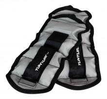 All-In Sport: Te gebruiken als pols- en/of enkelgewicht (hand en/of voetgewicht). Comfortabel neopreen binnenzijde. Kleur grijs. Gewichtsmanchetten 2 x...