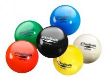 All-In Sport: De Soft Weights van Thera-Band® zijn het zachte alternatief voor de gebruikelijke gewichtsmanchetten of halters. Handzaam en in balvorm, ...