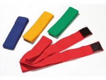 All-In Sport: met klittenband. Band van 100% polypropyleen, milieuvriendelijk 4 cm breed. <br /><br />Junior, L: ca. 50 (100) cm