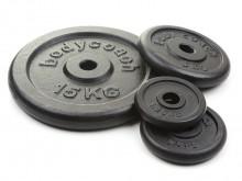 All-In Sport: Gietijzer, zwart gelakt, boring Ø 30,5 mm.