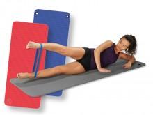 All-In Sport: Deze robuuste, resistente gymnastiekmat blijft zelfs bij zeer intensief gebruik soepel en vormstabiel. Het geslotencellige, gegarandeerd ...