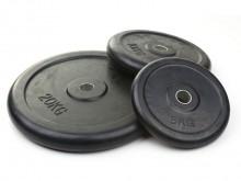 All-In Sport: Geluidsarmer, schokvaster en vloerbeschermender dan normale gietijzeren schijven. Boring Ø 30,5 mm.