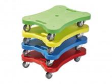 All-In Sport: De robuuste en buitengewoon wendbare SUPER-rolplank is ideaal voor vele gebruiksdoeleinden. Vanwege de ergonomische constructie met gripu...