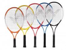 All-In Sport: Dit tennisracket is voor de eerste schreden in de tennissport super geschikt. Alleen wanneer racketmaat en -gewicht aan de lichamelijke e...