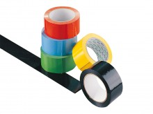 All-In Sport: Belijningstape voor speelveldmarkering zaalvloer<br />Leverbaar in wit, geel, groen, rood, donkerblauw, zwart.