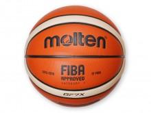 All-In Sport: Hoogwaardige indoor-wedstrijdbal van synthetisch leder. Nieuwe oppervlaktestructuur voor betere grip. FIBA-approved.