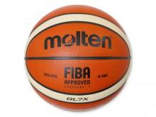 All-In Sport: Dé top wedstrijdbal van FIBA en FIBA Europe. Echt-lederen bal met nieuw oppervlak- en dempingsconcept. 12 ipv de gebruikelijke 8 gleuven ...