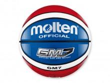All-In Sport: Top basketbal in neiuwe kleurcombinatie op 12 velden rood/wit/blauw. Van synthetisch leder, zeer goede grip, ideaal voor indoor en outdoor.