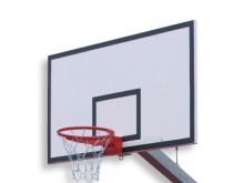 All-In Sport: <p>Basketbal doel Board voor het buitengebruik van weer en weerbestendig polyester met een stabiliserende frame gemaakt van gegalvaniseer...