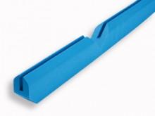All-In Sport: Uit één stuk vervaardigde polstering van vast PE-schuim met U-profiel en verstek gesneden hoeken voor een perfecte pasvorm.