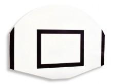 All-In Sport: Weerbestendig, glasvezelversterkt polyester met versterkingen, ongeboord, afm. 120 x 90 cm, 2,5 cm dik.