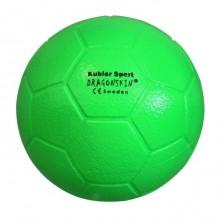 All-In Sport: Een zeer goede schuimbal met PU-toplaag, goed stuiterend, ø 20 cm, 315-330 gram, gemaakt in Sweden, Ideale neon kleuren voor school-, spo...