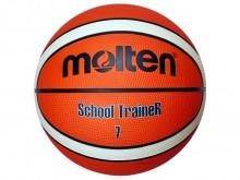 All-In Sport: De Molten basketbal School Trainer is een robuuste basketbal o.a. voor scholen. De bal is van synthetischleer en beschikt over een stroef...