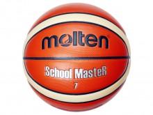 All-In Sport: De Molten basketbal School Master is van hoogwaardig synthetischleer en beschikt over een zeer stroef oppervlak, die perfecte balcontrole...