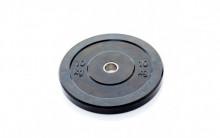 All-In Sport: <p>Ol. Zwarte Bumper Plate 10 kg:</p> <p>&nbsp;</p> <p>Vervaardigd uit massief rubber. Hierdoor zijn deze hoge kwalitatieve schijven ui...