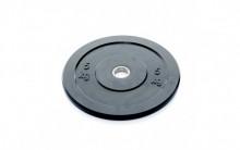 All-In Sport: <p>Ol. Zwarte Bumper Plate 5 kg</p> <p>&nbsp;</p> <p>Vervaardigd uit massief rubber. Hierdoor zijn deze hoge kwalitatieve schijven uits...