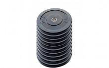 All-In Sport: <p>10-pack 10 kg Ol. Bumper Plates zwart</p> <p>&nbsp;</p> <p>Olymische Bumper plates vervaardigd uit massief rubber. Hierdoor zijn dez...