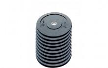All-In Sport: <p>10-pack 5 kg Ol. Bumper Plates zwart</p> <p></p> <p>Olymische Bumper plates vervaardigd uit massief rubber. Hierdoor zijn deze...
