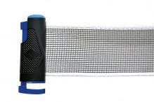 All-In Sport: Een tafeltennisnet makkelijk om mee te nemen en je kunt ze op alle tafels vastklikken.