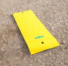 All-In Sport: De zwevende watermat biedt voor het zwemmen veel zwemplezier en om te relaxen op het water.  L: 350 x 180 3,5 cm, belastbaar 400 kg, ca....