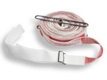 All-In Sport: Für den Hallengebrauch nach neuester Vorschrift, aus winddurchlässigem Polyethylengewebe. Bandbreite 5 cm, Länge 19,8 m + je 0,5 m Spanng...