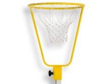 All-In Sport: an Sprungständersäule 2,50 m, Aufsteckprofil passend für Säule 40 x 40 mm, einschl. Netz.