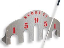 All-In Sport: voor het oefenen van nauwkeurig putten. 61 cm breed en 30,5 cm hoog.