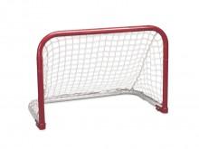 All-In Sport: Stabiel streethockeydoel. Doelframe van 3,45 cm dik staal inclusief weerbestendig net. Bodemframe voor transport en opberging ruimtebespa...
