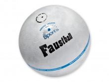 All-In Sport: aus Veloursleder natur im Tennisballschnitt.