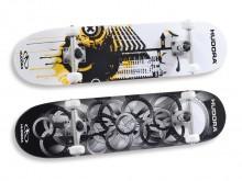 All-In Sport: Board van 100% hoogwaardig, Canadees Ahorn in 9 lagen, met anti-slip griptape. Heavy-duty Seagull aluminium trucks, gegoten PU-wielen, do...