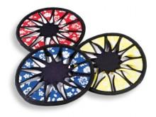All-In Sport: Frisbees van neopreen blinken uit door het geringe gewicht en door een zeer goede grip. Elastisch en toch stabiel, ligt goed in de lucht....