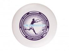 All-In Sport: Wedstrijd frisbee met excellente vluchteigenschappen. Goede grip, flexibel kunststof, Ø 27 cm, 175 gram voor exacte vluchteigenschappen. ...