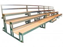 All-In Sport: <b>Dé ruimtebespaarder in de sporthal - MOBILISSIMA, de bouwpakket-tribuneset</b><br /><br />De MOBILISSIMA is onbegrensd bij elke manife...