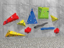 All-In Sport: Met dit materiaal is een kale betonnen of stenen muur in een attractieve en geavanceerde Boulderwand te veranderen. Er is daarvoor geen i...