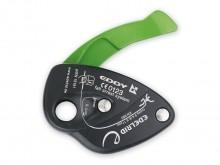 All-In Sport: Intuïtief te bedienen halfautomatisch zekeringsapparaat met ondersteunende remkracht voor het sport- en indoorklimmen. Paniekfunctie voor...