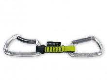 All-In Sport: <p>Key lock sluiting in de bovenste carabiner voor optimale behandeling toen op en hang out. Lichte draad poort in de lagere karabijnhaak...