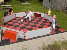 All-In Sport: De Panna Soccer Court is her perfecte speelveld voor aanstormende balkunstenaars! Het bestaat uit een lage boarding van 60 cm, praktische...