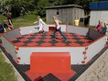 All-In Sport: <b>Het Panna Soccer Court is het perfecte speelveld voor aspirant balvirtuozen!</b><br /><br />Het Panna Soccer Court is een kleine Socce...