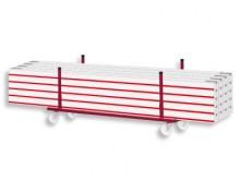 All-In Sport: <b>Transportwagen voor hockeybalken met grote, zwaar belastbare zwenkwielen</b><br /><br />Deze transportwagen voor hockeybalken is ideaa...
