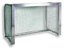 All-In Sport: Afm. 120 x 80 cm, 80 cm diep. Van aluminium, doelframe compleet gelast, 80 cm diep, netbeugels inklapbaar, met grondstang. Compleet met n...