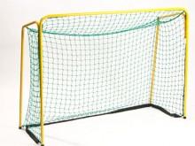 All-In Sport: Ca. 1,6 mm nylon, maaswijdte 4,5 cm, geschikt voor doel D5157 en andere doelen 105 x 140 cm.
