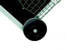 All-In Sport: 2 brede kunststof wielen voor 1 veldhockeydoel.