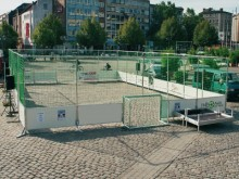 All-In Sport: <b>Mobiele Streetsoccer Court</b><br /><br />De mobiele Streetsoccer Court is ideaal voor straatfeesten, scholen en diverse marketingacti...