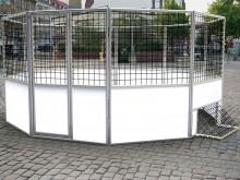 All-In Sport: <b>Streetsoccer Court - 6-hoekig met doorsnede 5 meter</b><br /><br />Deze Streetsoccer Court is het ultieme sportveld op openbare plekke...