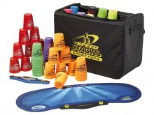 All-In Sport: Deze schooltas bestaat uit het complete equipment, die een leraar, trainer, opvoeder of toezichthouder voor de introductie van een Sport ...