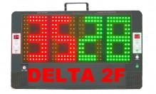 All-In Sport: <p>2-zijdig elektronisch wisselbord van breukvast ABS-kunststof, met zeer goed zichtbare LED-displays. Wisselbord met simpele bediening d...