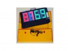 All-In Sport: <p>lichtgewicht, eenvoudig te bedienen elektronisch spelers wisselbord. - super heldere LED&rsquo;s in de kleuren rood en groen aan <stro...