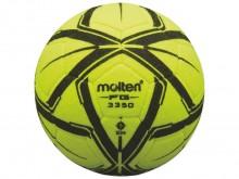 All-In Sport: De Molten F5G3350 is een zeer goede zaalvoetbal met naaldvilt oppervlak. Vanwege het speciale vilt reduceert de stuitkracht van de zaalvo...