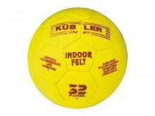 All-In Sport: Zaalvoetbal 32-delig, van geselecteerd geel Engels speciaalvilt, met polytex versterking, handgenaaid, gereduceerde stuitkracht, volgens ...